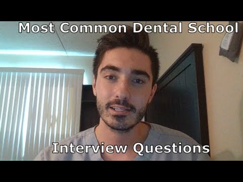 The Most Common Dental School Interview Questions