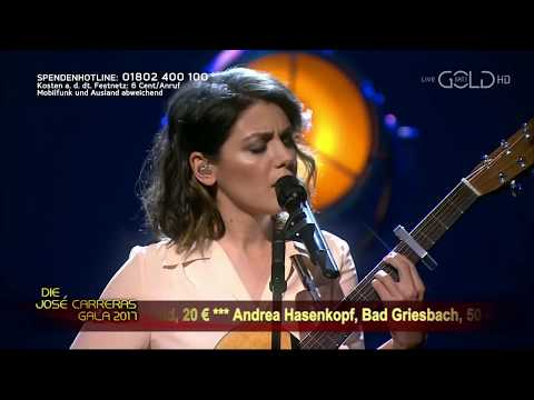 Katie Melua performing Fields of Gold at...