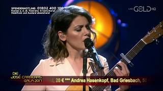 Katie Melua performing Fields of Gold at The José Carreras Gala 2017