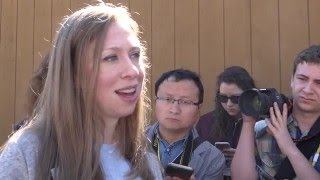 Chelsea Clinton on being at Berkeley thumbnail