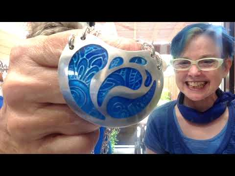 Charlotte Edwards : Metal Clay Jewelry