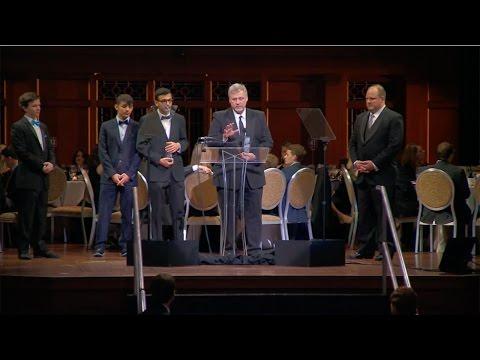 The National Emmy Awards: Laith Emmy Award Acceptance