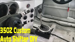 homepage tile video photo for Nissan 350Z Custom Automatic Shifter DIY