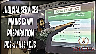 JUDICIAL SERVICES MAINS EXAM PREPARATION / PCS-J / HJS / DJS PART 1