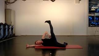 11). Side Side Pilates training by Joan van der Mast for Contemporary Dancers