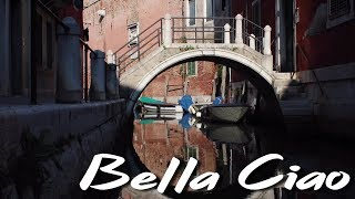 Bella Ciao - Ukulele Cover filmed in Venice and Colombia