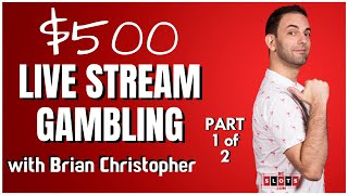 🔴LIVE $500 Part 1 of 2 🎰 from San Manuel Casino 💰 BCSLOTS