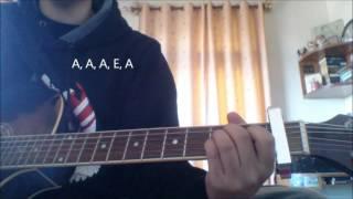 """""""Atrangi Yaari"""" Guitar Tutorial"""