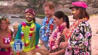 Prince Harry & Meghan Markle Visit Sydney's Bondi Beach | Studio 10