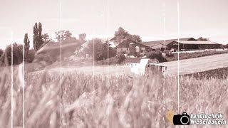 Bavarian Harvest 2k16 - Gerste dreschen in Niederbayern feat. Claas Lexion 570 + Case IH [GoPro ]