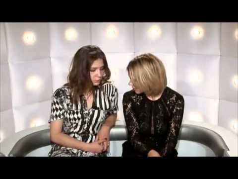 Léa Seydoux and Adèle Exarchopoulos for Canal +Act