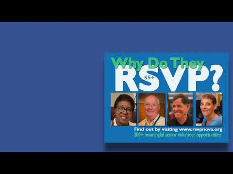 RSVP NOVA Podcast The Importance of Senior Volunteers