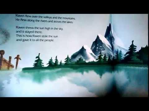 story time for kids raven by gerald mcdermott northwest