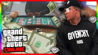 SCOMMETTENDO AL CASINO - GTA Online Diamond Casino