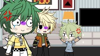 Aaaaaahhhh!(bakudeku)short skit
