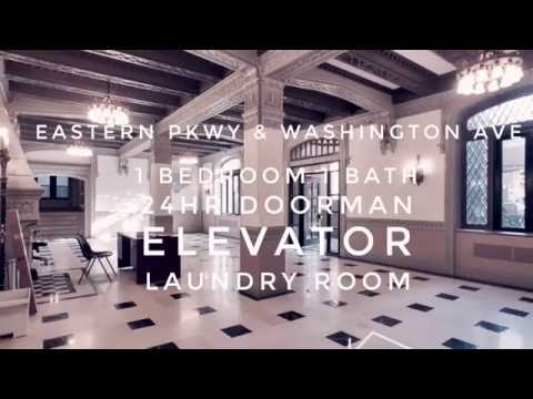 🙂Tour of Modern Apartment in Prospect Heights, Brooklyn New York (Doorman, Laundry, Elevator.. etc)