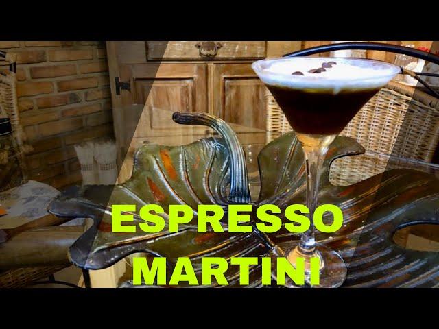 ESPRESSO MARTINI - LIVE #1