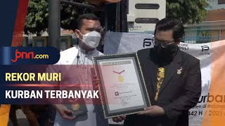 Berkurban 1.100 Ekor Hewan, Putra Siregar Pecahkan Rekor MURI - JPNN.com