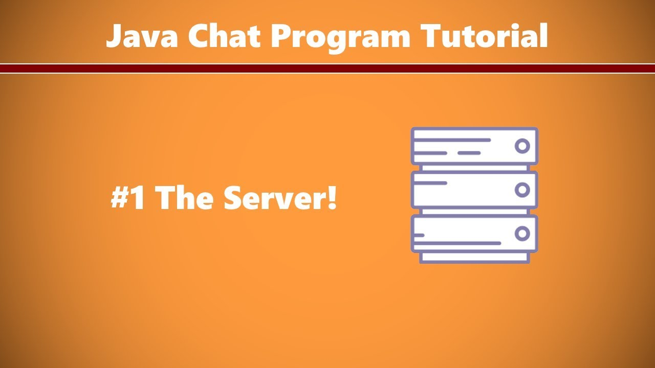 Java chat server tutorial images any tutorial examples java chat program tutorial 1 setting up the server youtube java chat program tutorial 1 setting baditri Images