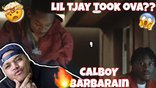 Calboy - Barbarian ft. Lil Tjay REACTION | JessieT Tv
