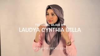 Tips Simple Berhijab Ala Laudya Cynthia Bella