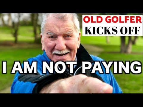 78 YEAR OLD GOLFER KICKS OFF OVER A GOLF MATCH - GOLFMATES
