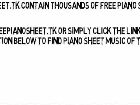 Ms. Jackson [Explicit] - OutKast (Piano Sheet Music)