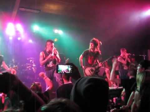 Drowning Pool - Bodies + Outro LIVE @ Rhinelander Ice Arena 07-02-13