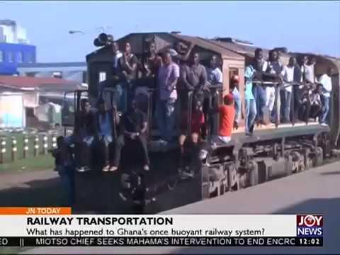 Railway Transportation - Joy News Today (24-10-16)