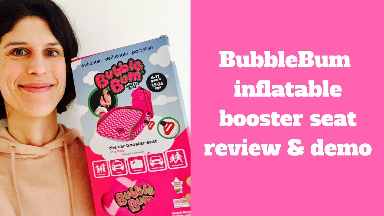 BubbleBum Inflatable Car Booster Seat Review & Demo - YouTube