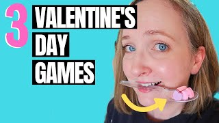 3 Valentine Party Games