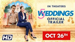 '5 Weddings' | 26 OCT |  Nargis Fakhri | Rajkummar Rao | Bo Derek | Candy Clark