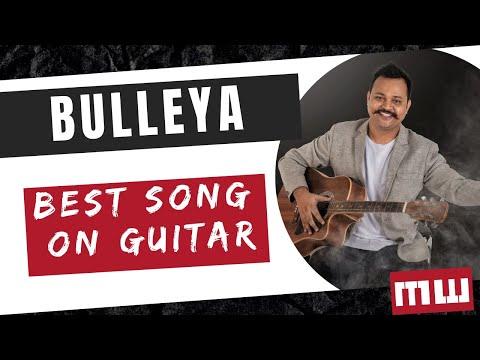 Bulleya Guitar Cover Lesson | Simple Chords | Ae Dil Hai Mushkil Guitar Lesson