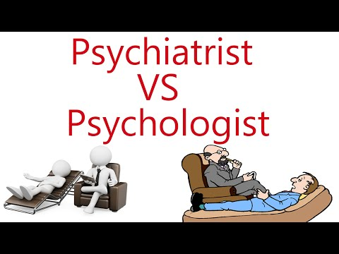 Psychiatrist vs Psychologist! What is the difference?