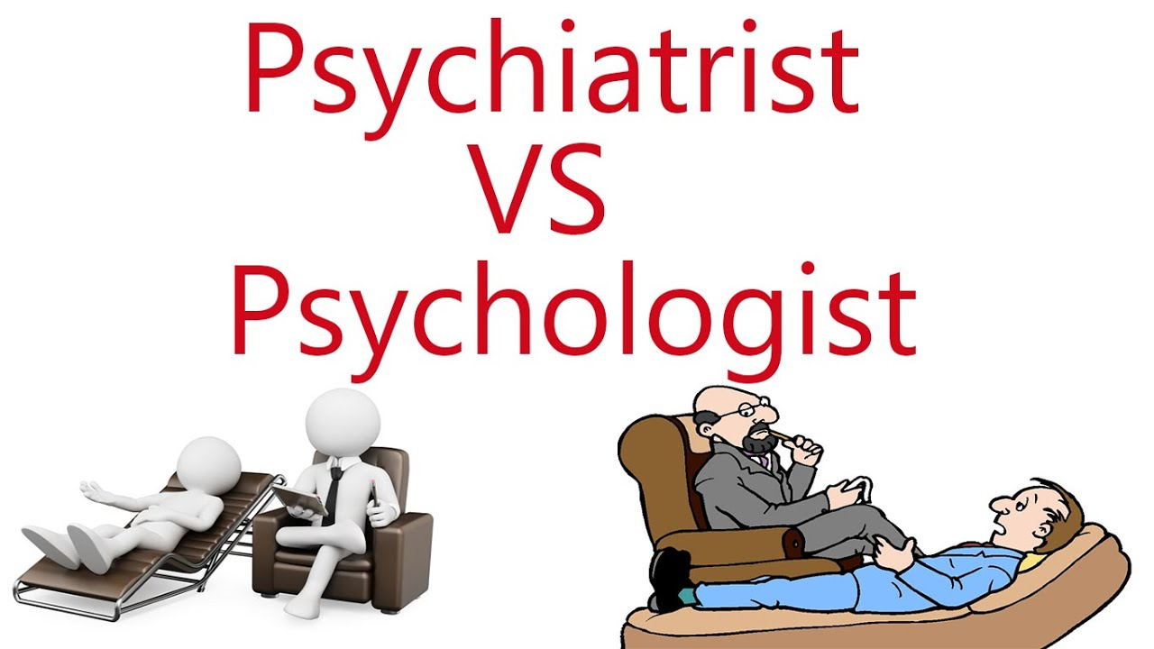 Difference psychiatrist and psychologist?