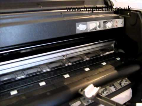 clear plastic strip inside deskjet printer