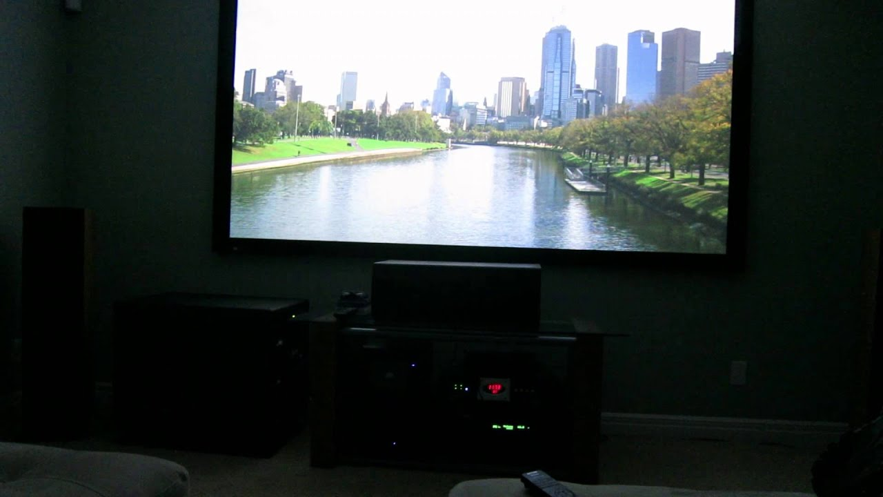 150 inch home theater projection tv
