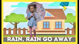 Rain Rain Go Away | Nursery Rhyme with lyrics