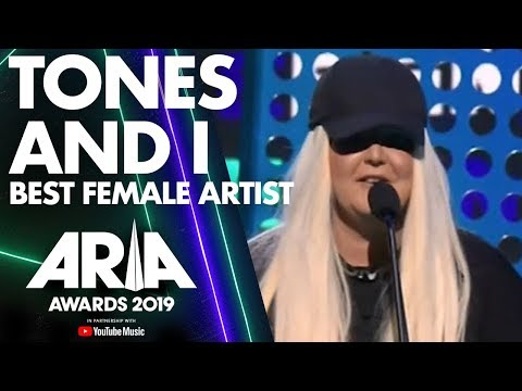 Tones and I wins Best Female Artist | ARIA Awards 2019