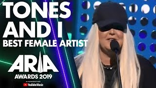 Tones and I wins Best Female Artist | ARIA Awards 2019 Video