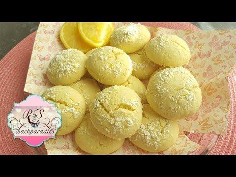 Zitronen Plätzchen / Limonlu Kurabiye