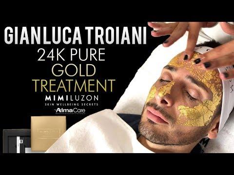 24K PURE GOLD TREATMENT by MIMI LUZON -  L'HO PROVATO PER VOI!