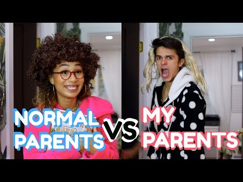 NORMAL PARENTS VS MY PARENTS (w/ MyLifeAsEva) | Brent Rivera