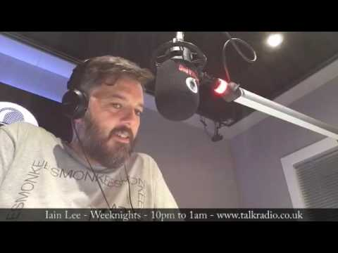 A Drunk Caller to Late Nights With Iain Lee on talkRADIO NSFW