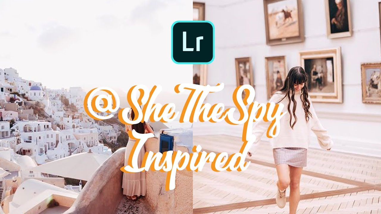 How to Edit Like @shethespy on Lightroom Mobile | Free