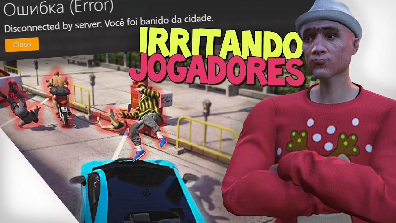 IRRITANDO JOGADORES COM ANTI RP - GTA RP