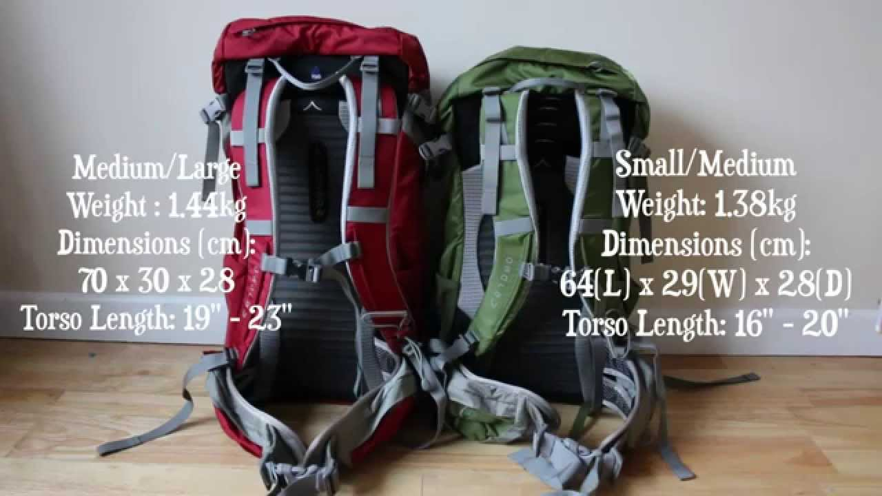 760269eb8 *NEW* All You Need To Know: Osprey Kestrel 38L Backpack S/M vs M/L - YouTube