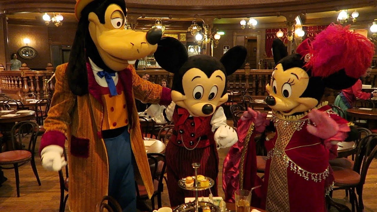 Tea Time With Mickey Minnie And Goofy At The Lucky Nugget