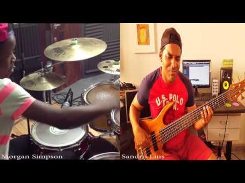 Morgan Simpson Sandro Lins - Rather Be - Clean Bandit - Drum Cover -