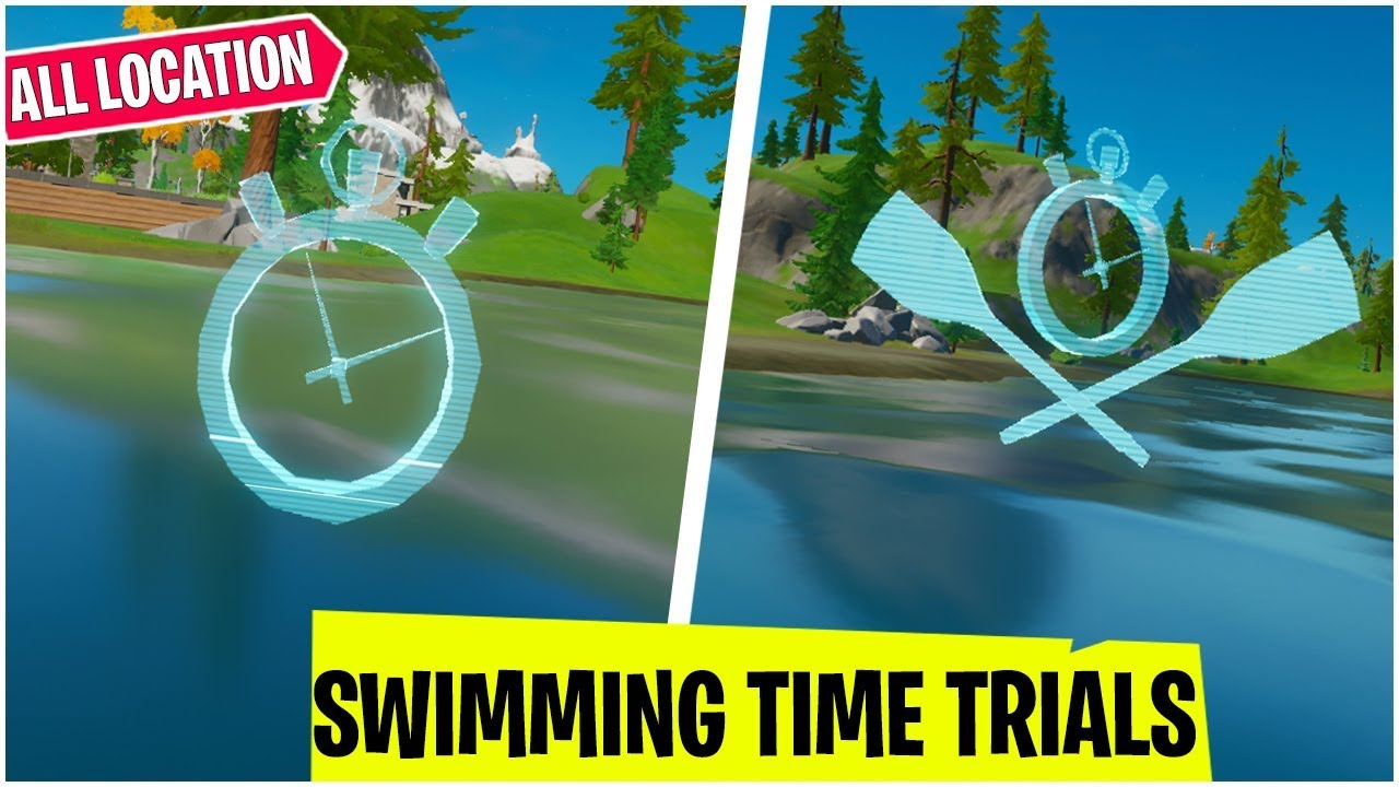Complete The Swimming Time Trials At Lazy Lake And East Of Hydro 16 Location Dive Mission
